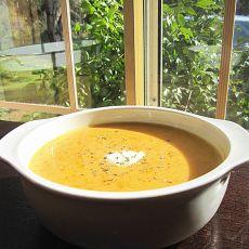 南瓜洋葱浓汤