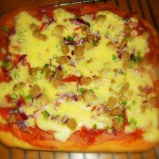 牛肉萨拉米披萨