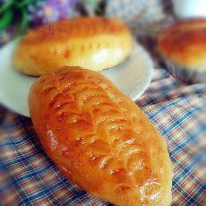 手工牛奶面包