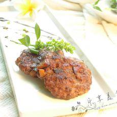 香草牛肉饼