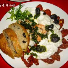 地中海红虾橄榄沙拉