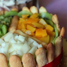 黄桃千层蛋糕