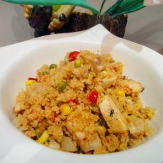 法式炒小米饭的做法
