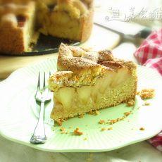 麦胚肉桂苹果蛋糕