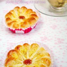 椰蓉花瓣面包的做法