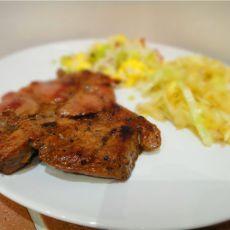 德式猪排配餐