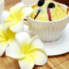 蓝莓乳酪杏仁蛋糕