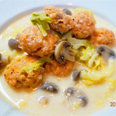 三文鱼白菜汤