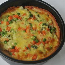 彩蔬披萨的做法