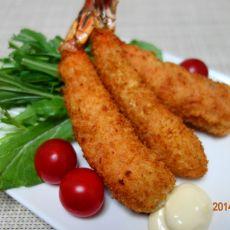 日式油炸虾