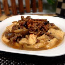 牛肉煮豆腐