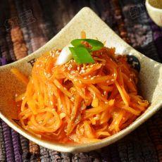 韩式泡菜炒土豆丝的做法