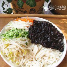 韩式炸酱面