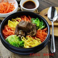 韩式排骨拌饭的做法