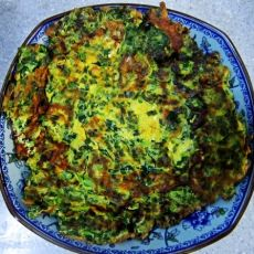 韭菜煎蛋饼的做法
