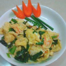 【家常菜】韭菜炒鸡蛋