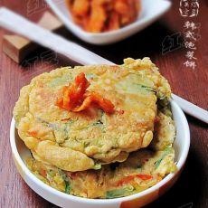 韩餐小吃---泡菜煎饼的做法