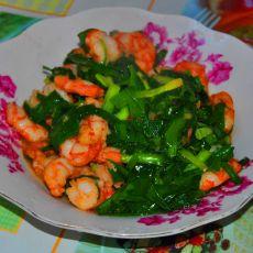 韭菜虾仁的做法