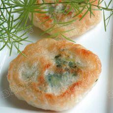 韭菜饼的做法