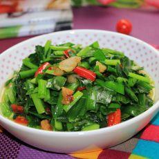 猪油炒韭菜