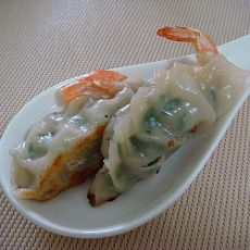 香煎脆皮虾饺子