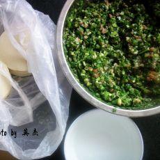 韭菜肉饺子馅