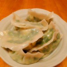 鸡蛋韭菜水饺的做法