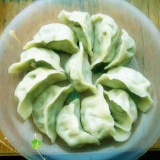 韭菜金针菇饺子的做法