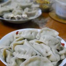 山药韭菜馅饺子的做法