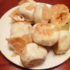韭菜猪肉水煎包的做法