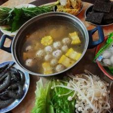 玉米火锅的做法