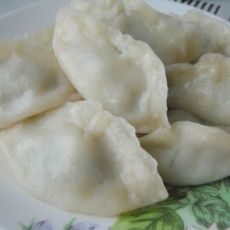 鲅鱼韭菜蒸饺