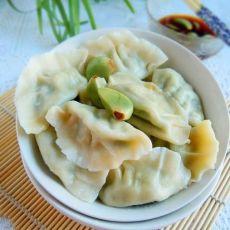 韭菜鸡蛋素水饺的做法