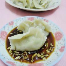 鲜蘑韭菜猪肉饺子
