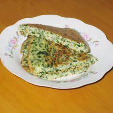 韭菜鸡蛋煎饼