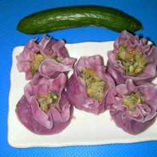 紫薯香菇烧卖