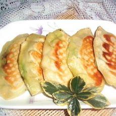 饼铛韭菜盒子的做法