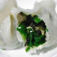 韭菜木耳鸡蛋水饺