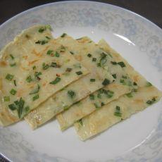 韭菜煎饼的做法