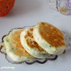 韭菜豆腐馅饼的做法