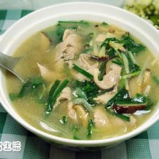 客家肉片汤
