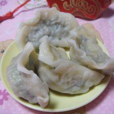 鱿鱼韭菜饺子