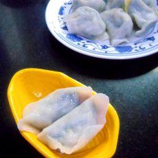 虾仁鸡蛋韭菜水饺
