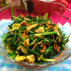 韭菜滑鸡肉