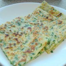 韭菜煎饼子的做法