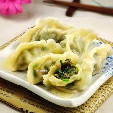 韭菜木耳水饺的做法