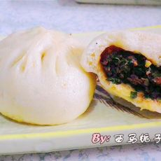 海米韭菜肉包的做法