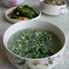 韭菜鸡蛋汤