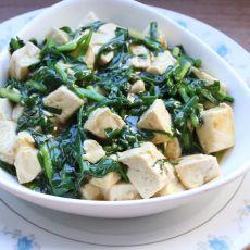 韭菜溜豆腐
