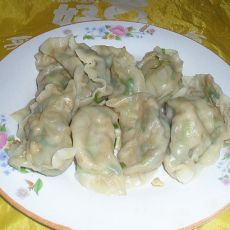 韭菜鸡蛋水饺